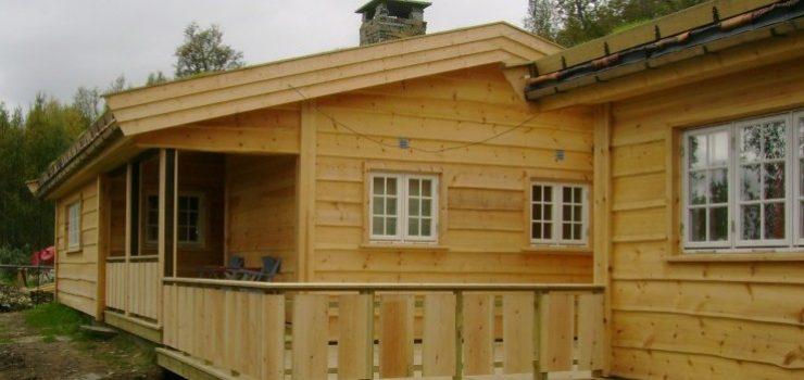 Resturering av eldre hytte, sommeren 2011.