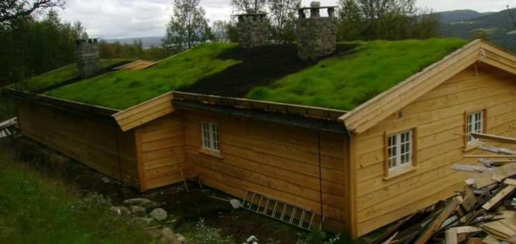 Resturering av eldre hytte,sommeren2011.